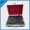 Custom logo Multiple function turntable player record gramophone player with usb