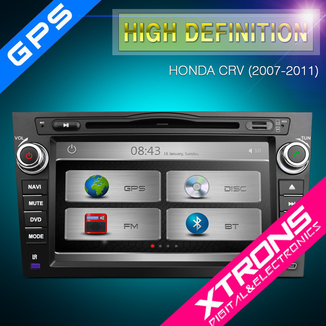 "8"" HD Touch Screen car dvd gps Navigation For Honda CRV not for honda accord 2009"