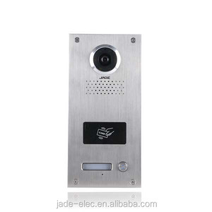 Home & Garden Appartment Villa Video Intercom Set with ID Card Unlock Function