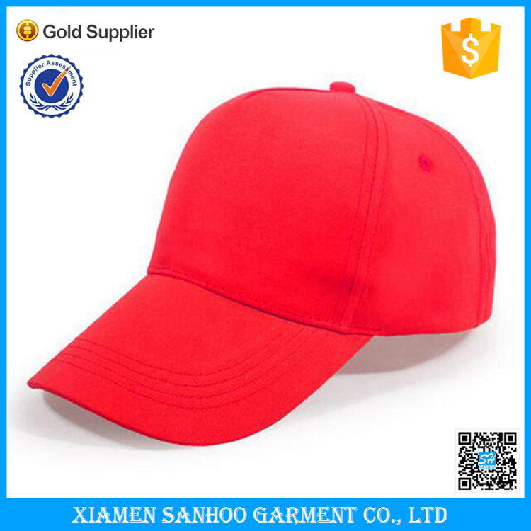 Cheap Embroidery Logo Soft Cotton 5 Panel Custom Blank Baseball Cap Good Quality