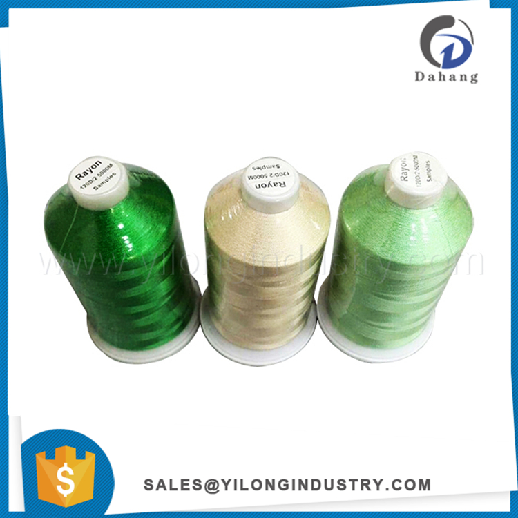 120d/2 viscose rayon filament embroidery thread/yarn high tenacity viscose rayon embroidery thread rayon thread factory