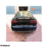 ABS Primer Painted Back Rear Spoiler Lip Wing For universal car Rear Spoiler