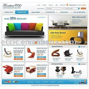 b2c ecommerce website design and development