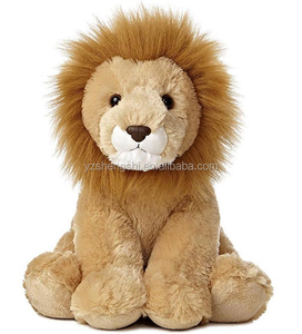factory price custom plush forest animal licensed lion sitting stuffed plush lion toys