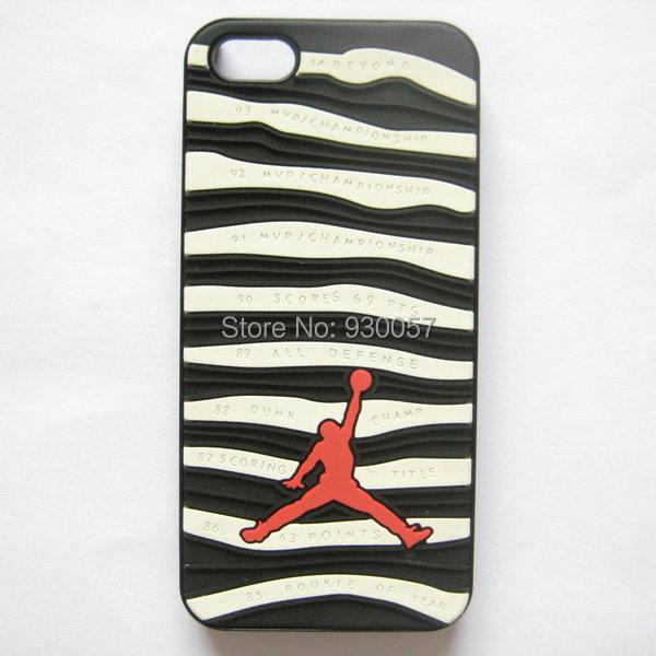 Buy PVC Rubber Jordan Case for Iphone 5 5S Shoe Sole Bottom 3D ...