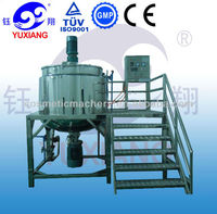Yuxiang JBJ high quality Industrial Ink/painting/coating Liquid Mixer Agitator With Vacuum System