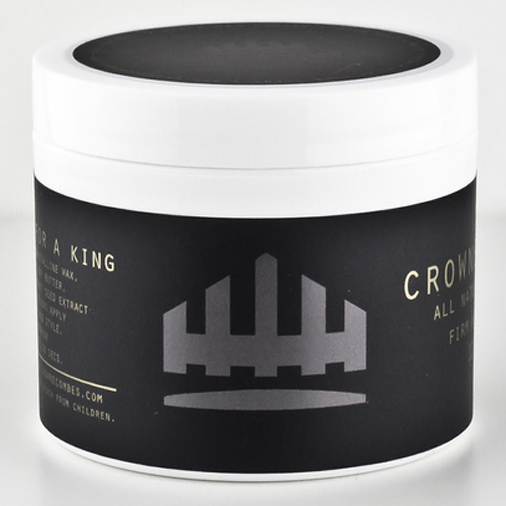 Crowne & Combes All Natural Black Wax 4oz