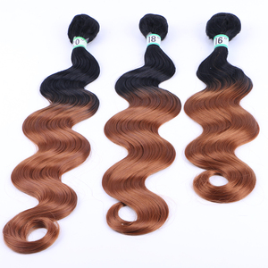 Factory Directly synthetic hair weaving guangzhou cheap long curly hair weave curly hair weave for black women