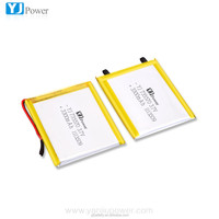 Best sale YJ 735570 rechargeable li-ion battery 3.7v 3300mah with protection PCM , Tablet PC battery