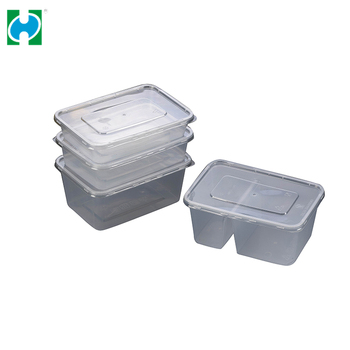 Plastic Food Packaging Lunch Box