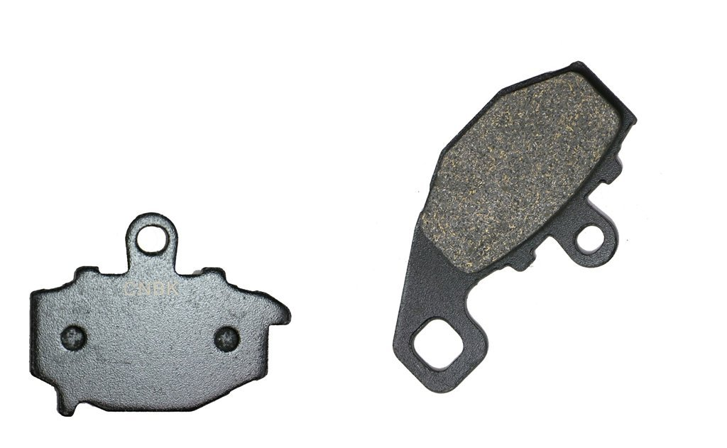 Cyleto Front and Rear Brake Pads for Kawasaki ER6N ER 6N ER650 2006 2007 2008 2009 2010 2011 2012 2013