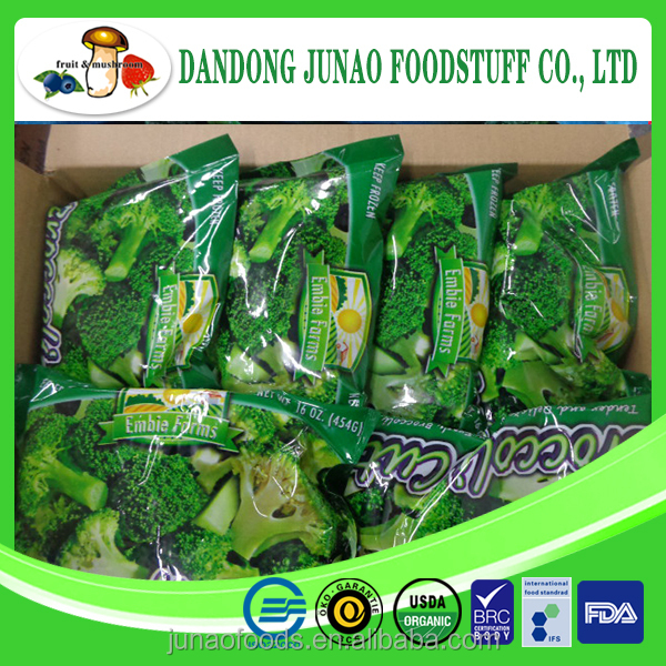 IQF frozen broccoli wholesale price