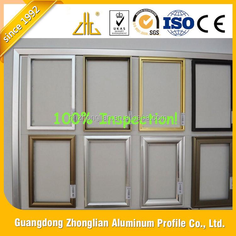 Wow! Perfil De Aluminio Para Vidrio Imagen Casa Publicidad/espejo De ...