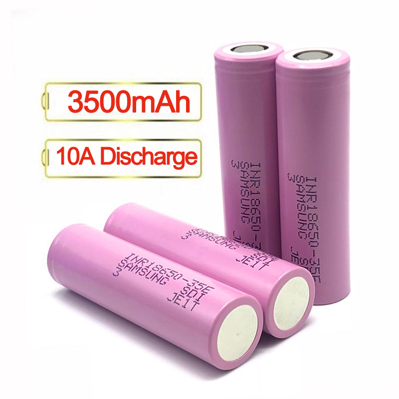 Authentic Brand INR18650 35E 3.7V li-ion <strong>Battery</strong> 3500mAh <strong>Battery</strong> for <strong>Battery</strong> Pack