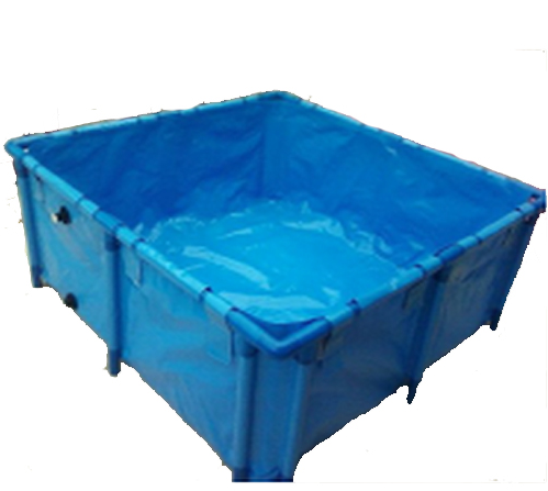 High quality rectangular foldable fish tank for breeding for Koi tank size
