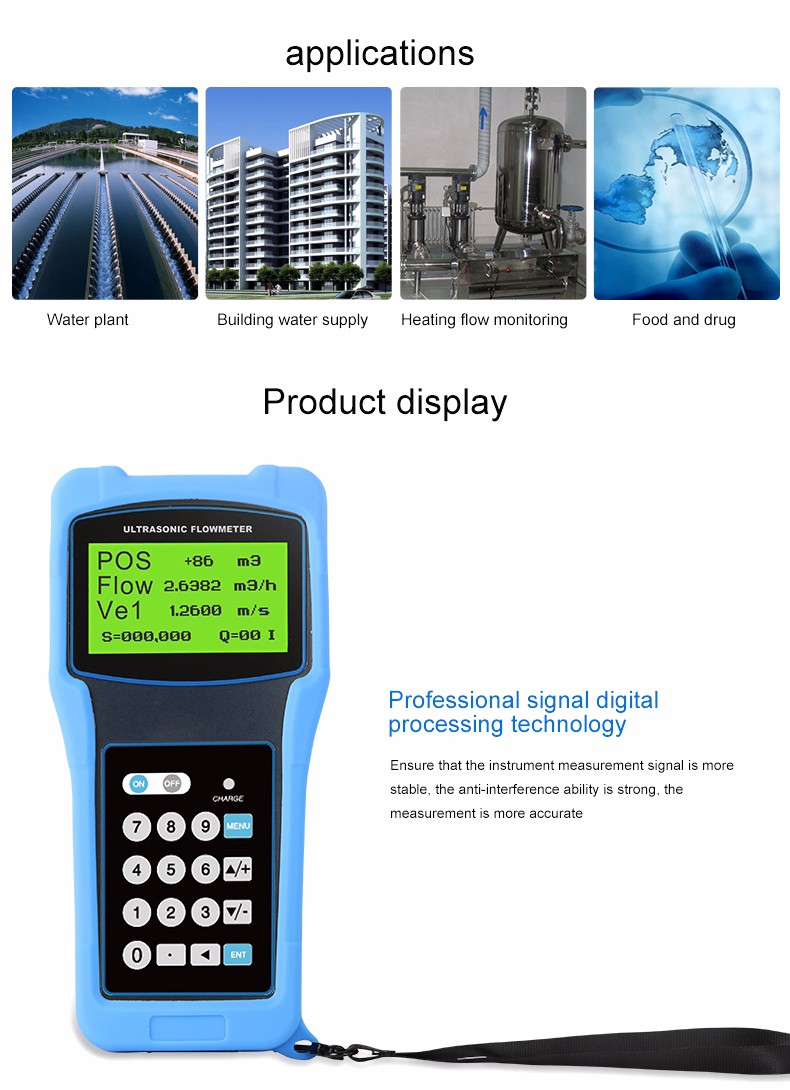 Reliable and Cheap ultrasonic flow meter accuracy sonic manufacturers with Quality Assurance