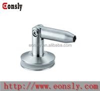 304/316 stainless steel handrail wall mounted handrail bracket/adjustable brass handrail bracket from Guangzhou