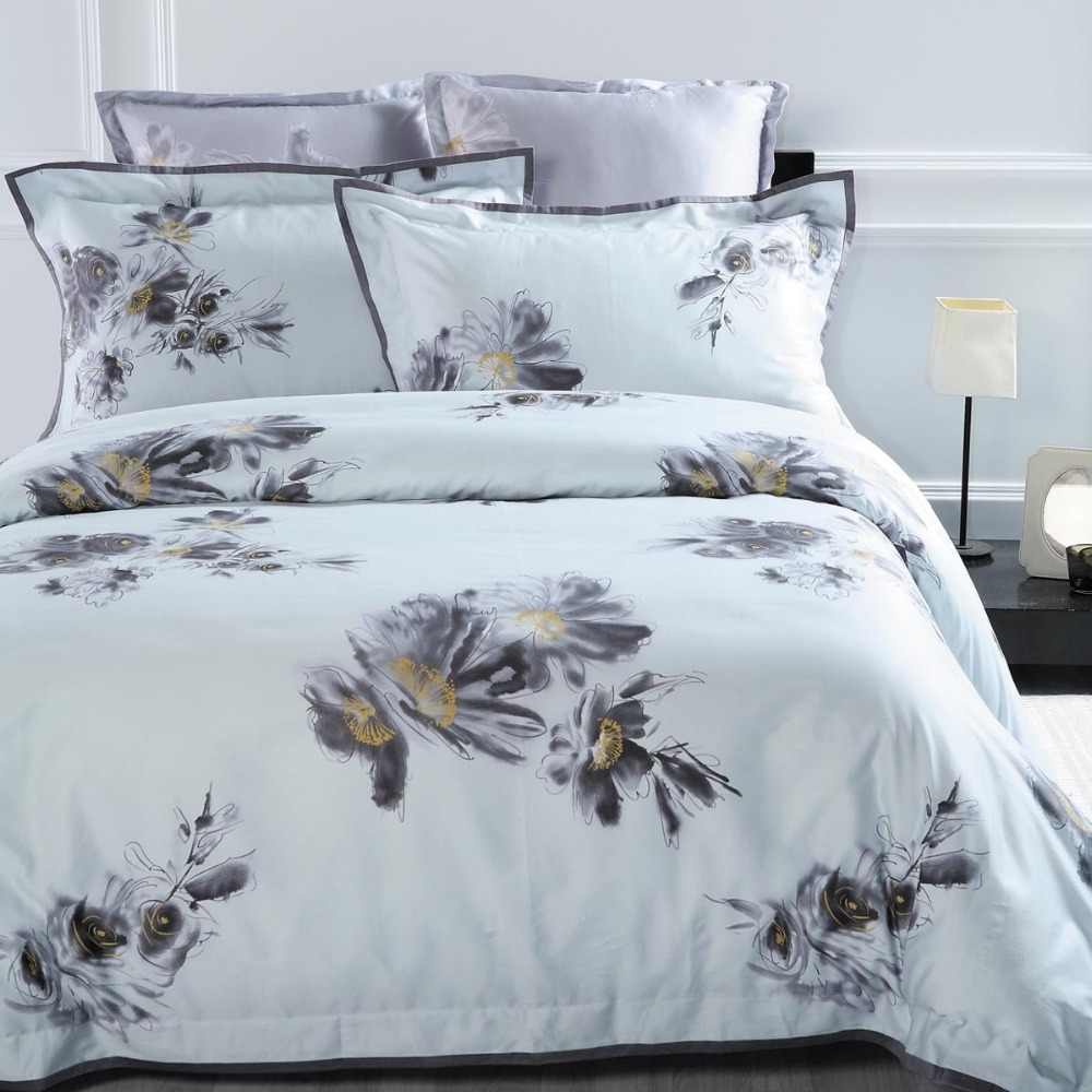 modern flavor beautiful bed sheet sets fitted sheet cover