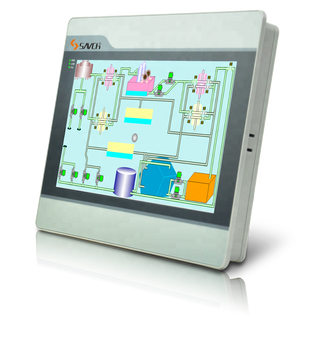 Sanch SPN new good performance HMI for PLC controller