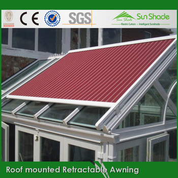 Exterior Sunshade Roof Mounted Retractable Awning - Buy ...