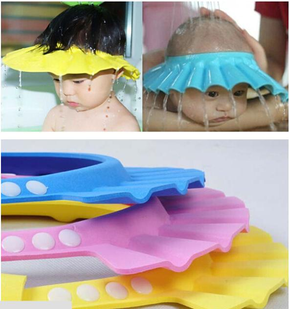 Baby Baby Soft New Wash Hair Shield Bathing Shower Cap Hat Bathing Accessories Hypewell Com