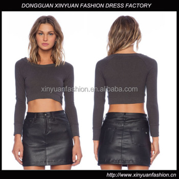 Fabulous Women Sexy Tight Cropped Sweater - Buy Women Cropped ...