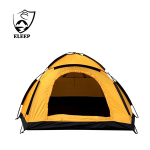 Family camping equipment 1-2 Man Single Layer Waterproof Camping Tent 2 Man Tents for Sale