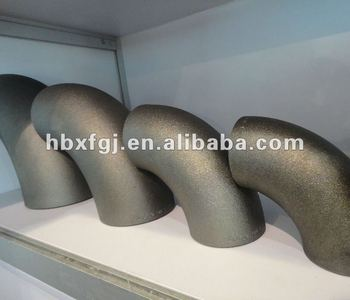 JIS B2311 seamless pipe elbow SGP