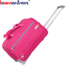 Quanzhou custom cabin trolley bag, fashion high-end travel bag on wheels