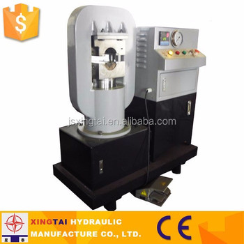 Small Hydraulic Steel Wire Rope Crimping Machine - Buy Wire Rope ...