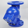 Cast Carbon Steel Flanged Y Type Valve Strainer