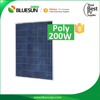 Bluesun high quality best price 200w solar panels for home use complete long life stable performance