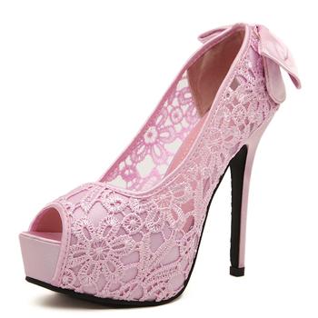 3856eb87a elegante plataforma do partido peep toe bombas elegante bow tie senhoras  sapatos de salto alto sapatos