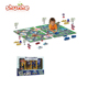 Traffic carpet cheap children playing mat with car toys baby play mat