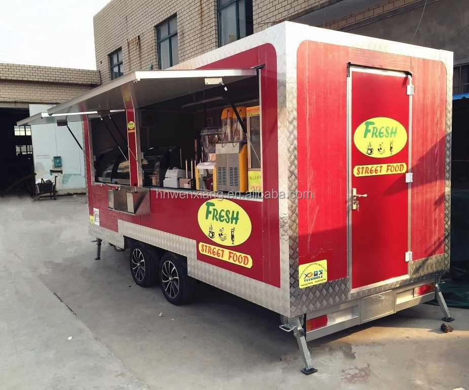 BBQ Food Event Concession Vending Trailer with Serving Window