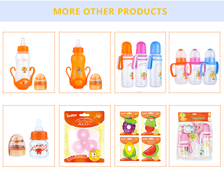High quality BPA free silicone baby nipples in box