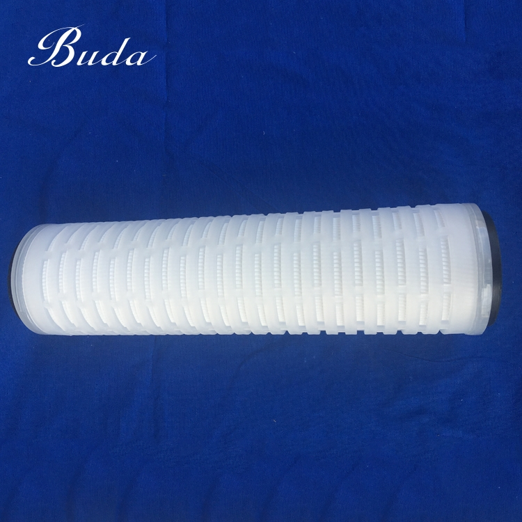 Long service life <strong>membrane</strong> 0.1um pp pleated reusable water filter cartridge