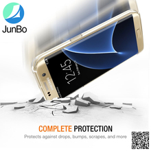 Wholesale Clear Phone Case TPU Crystal Clear Back Skin Transparent Slim Fitted Cover Case For Samsung Galaxy S7