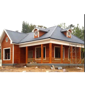 factory direct deal prefabricated luxury steel villa house