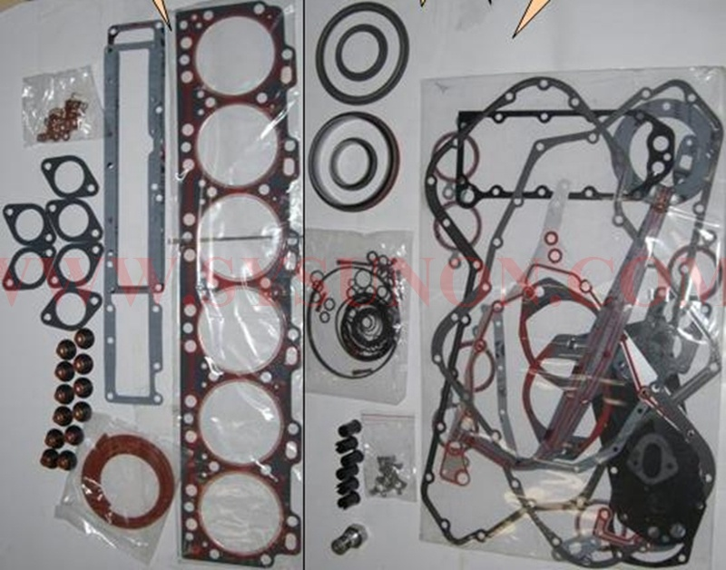 6CT auto engine overhaul gasket set Lower Gasket 3800558 3802087