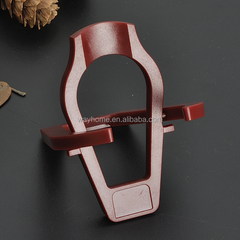Foldable plastic tobacco smoking pipe stand or holder