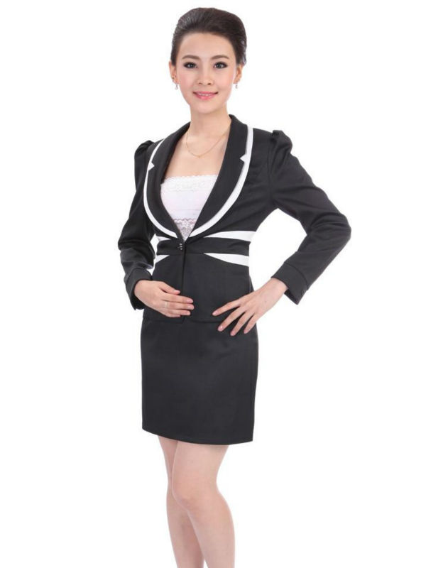 Femmes bureau uniforme style costumes et smoking id de for Bureau uniform