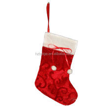 xmas sock decorative best selling for Christmas, cute and beautiful christmas sock