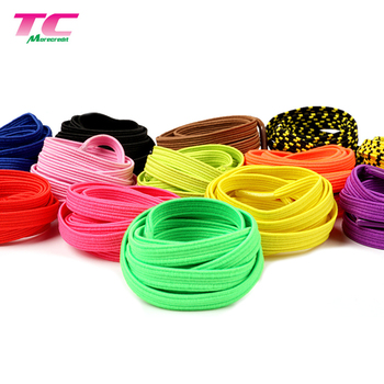 Morecredit New Casual Flat Elastic Shoe Laces Stretchy No Tie Shoelaces With Plastic Lock System