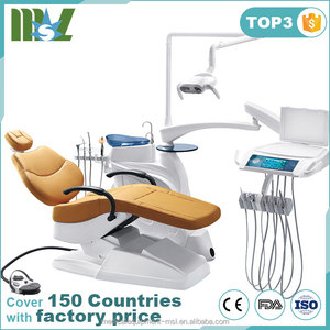 MSLDU18 Latest Luxury Dentist Dental Chair with American Pips &Tubes Which Is Made In China Factory