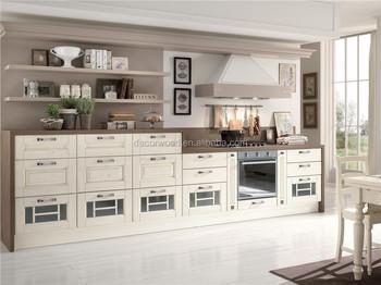 2015 Moderno Fresno Blanco Muebles De Cocina De Madera - Buy Ceniza ...