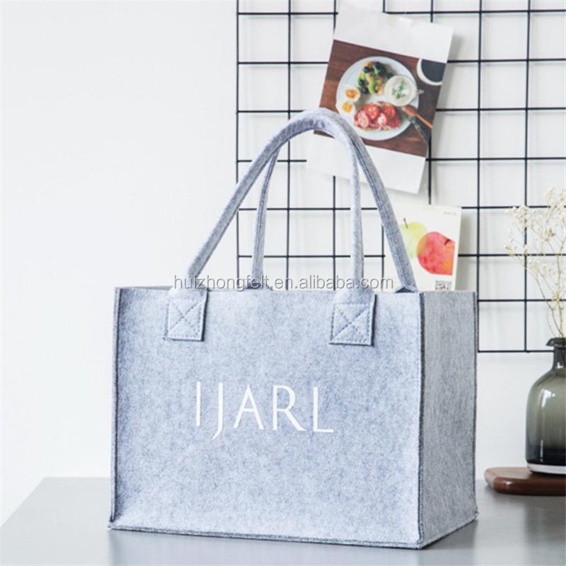 Filz-Einkaufstasche mit individuellem Logo