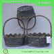 lace willow fruit basket cheap wicker baskets with lace for fruit