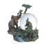 Custom Handmade Resin Snow Globe Elephant Collection Desk Figurine Decoration