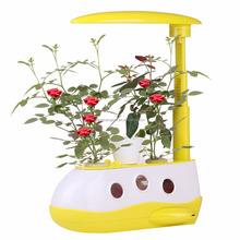 Dimmable Touch Control Plant Grow Reading Led Table Lamp for Kids as Learning Gift Keep Fish Mini Garden